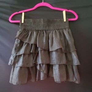 American Eagle Outfitters Chocolate Brown Skirt